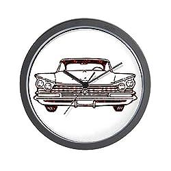 CafePress Classic Car Unique Decorative 10 Wall Clock