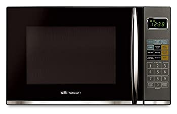 Emerson 1.2 Cu. Ft. 1100w Griller Microwave Oven With Touch Control, Stainless Steel, Mwg9115sb 1