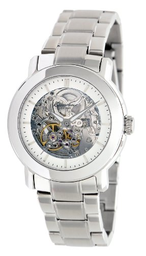 Kenneth Cole New York Women's Automatic Stainless Steel Case Stainless Steel Bracelet Silver,(Model:KC47750)