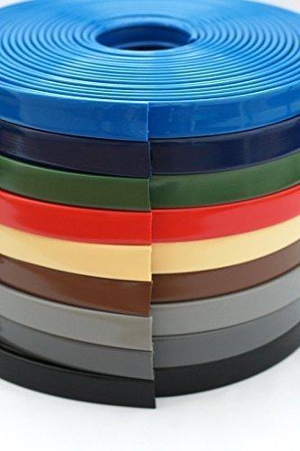 Hervorragend BST 1 m PVC Kunststoff Handlauf, Treppenhandlauf 40x8 mm (braun RS98