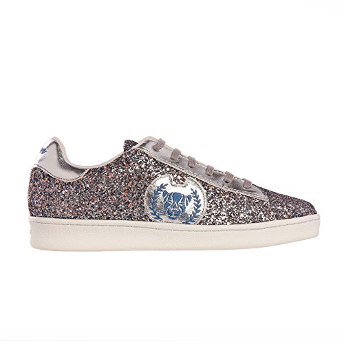 Xyon Revolution Zapatillas Deportivas Sneakers Con Cordones Blue Diamond Silber