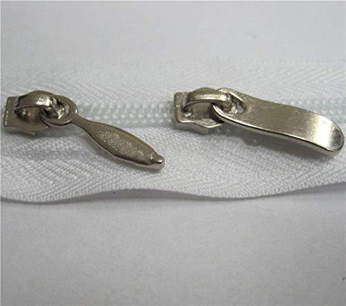 MOPOLIS 20Pcs Zipper Zip Slider Rescue Repair Replacement for Pillows Duvet Cover | Color - #10