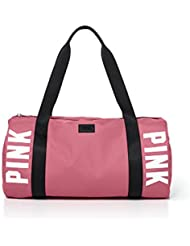 Victorias Secret PINK Gym Duffle Bag Soft Begonia