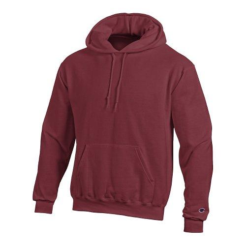 - Champion Double Dry Men`s Action Fleece Pullover Hood Maroon