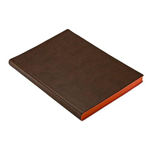 Honey Leather Exporters Journal Cahier en Cuir vintage C/œur en relief Journal cahier Copte reli/é avec fermeture /à verrou