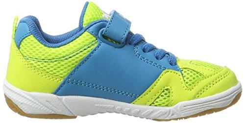 Lico Sport Vs, Zapatillas Deportivas para Interior Unisex Niños Amarillo (Lemon/blau/weiss)
