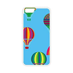 Hot Air Ballon iPhone 6 Plus 5.5 Inch Cell Phone Case White toy pxf005_5970151