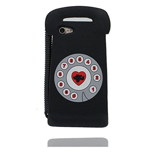 """iPhone 7 Plus (5.5"""") Coque, [ de matériau TPU souple élégant téléphone ] iPhone 7 Plus étui (5.5 pouces), poussière glissement résistant aux rayures, iPhone 7 Plus Case et ring Support de téléphone"""