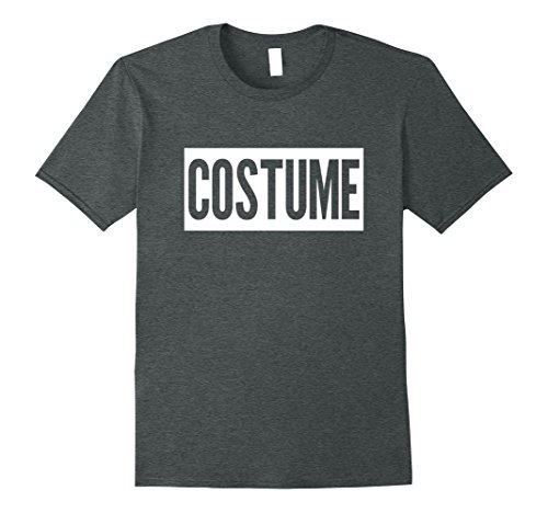 Mens FUNNY HALLOWEEN COSTUME T-SHIRT [PARTY OUTFIT & GIFT IDEA] Large Dark (Zombie Family Costume Ideas)