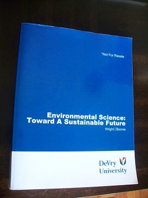 Environmental Science (Toward a Sustainable Future) (Environmental Science Toward A Sustainable Future 11th Edition)