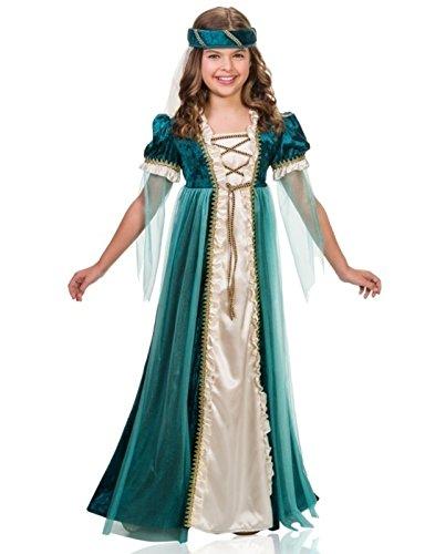 Girls Emerald Juliet Costume size Medium 8-10 -