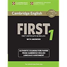 Cambridge first certificate in English. With answers: 1