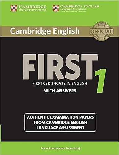 ответы fce use of english 1