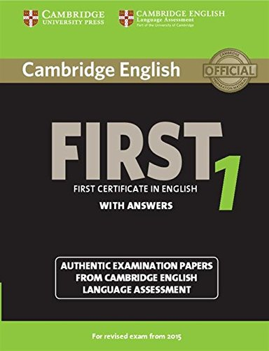 Cambridge first certificate in english. For updated exam. Student's book. With answers. Per le Scuole superiori. Con espansione online: Cambridge ... from Cambridge English Language Assessm