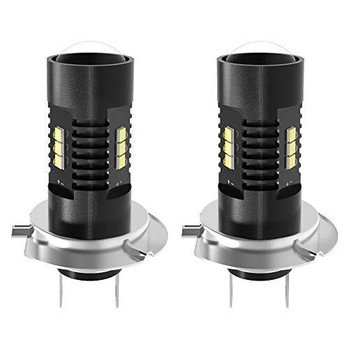 YITAMOTOR 2x H10 9145 9140 LED Fog Light Bulbs Max 60W 1200 Lumens High Power Chipsets for DRL or Fog Lights Xenon White 6000k