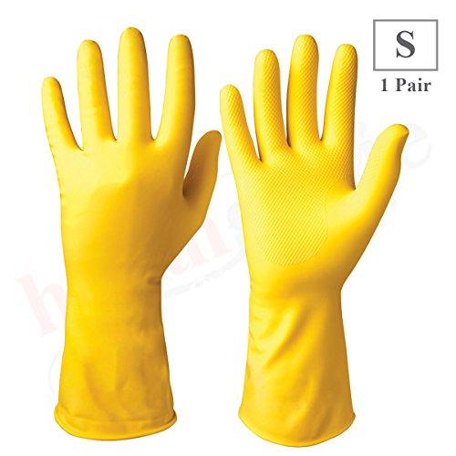 Healthgenie Flocklined Household Multi-Purpose Glove, Small (1 Pair) …