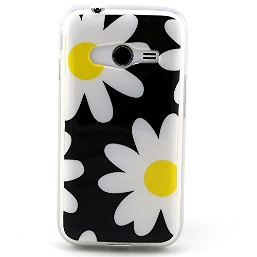 For Samsung Galaxy Ace NXT Case, IVY Chamomile Graphic,Snap-on TPU&IMD Soft Case Cover Skin For Samsung Galaxy Ace 4 Lite G313/Ace NXT SM-G313H