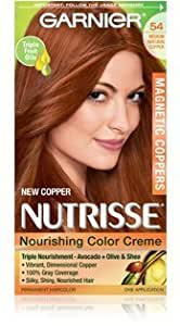 Amazon.com: Garnier Nutrisse Nourishing Color Creme Permanent Haircolor, Limited Edition