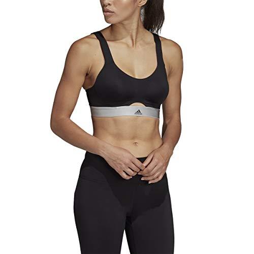 adidas Stronger Wireless Sports Bra (DU3693) 38DD/Black/Carbon