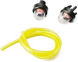 Manyo - Juego de 3 bombillas de arranque + tubo de gasolina (2 mm ...