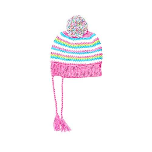 Spyder Girls' Bittersweet Hat (Big Kids), Bryte Bubblegum/Multi Color, One Size