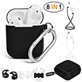 Best Pair With Cases - YUPING AirPods case Designed Separately Silicone Protective Cover,2 Review