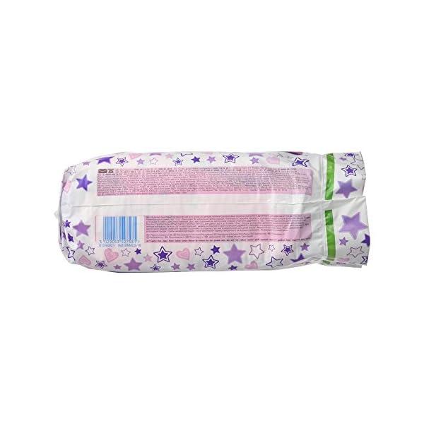 Huggies Pannolini assorbenti notturni DryNites per bagnare il letto, per ragazze 4-7 anni (17-30 kg), 3 x 10 = 30… 4