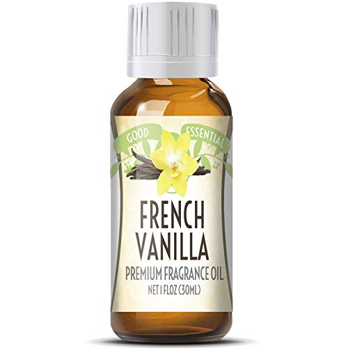 French Vanilla Scented Oil by Good Essential (Huge 1oz Bottle - Premium Grade Fragrance Oil) - Perfect for Aromatherapy, Soaps, Candles, Slime, Lotions, and - Soap French Vanilla