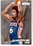 Julius Erving basketball card (Philadelphia 76ers) 2014 Prizm Chrome #163