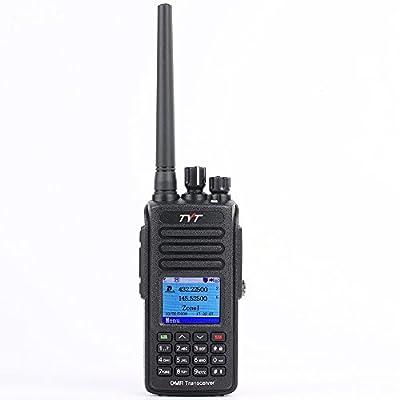 TYT MD-UV390 Dual Band 136-174MHz/400-480MHz DMR Two Way Radio W/GPS Waterproof Dustproof IP67 Walkie Talkie