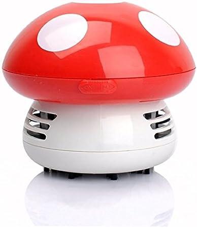 ANKKO Aspiradora mini seta limpiador Aspiradora de mano Aspirador para el ordenador - Rojo: Amazon.es: Bricolaje y herramientas