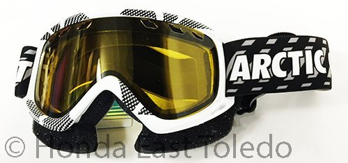 Arctic Cat Goggle,Snow Fuel Max White - Eyewear Arctic