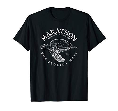 Marathon Turtle Florida Keys Scuba Fishing and Diving Tee  T-Shirt