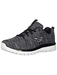 20ed0d4a563 Skechers Graceful-Twisted Fortune Tenis Mujer