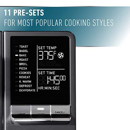Calphalon Quartz Heat Countertop Toaster Oven, Dark Stainless Steel (Renewed) by Calphalon (Image #4)