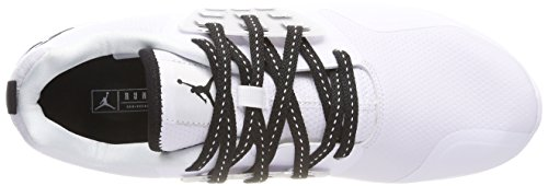 Basketball black Jordan 110 Nike De Chaussures Buty Blanc Homme white Grind 41BTX
