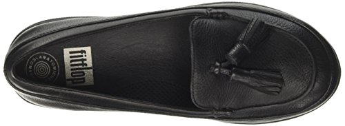 Fitflop Fsporty TM Tassel, Mocassini Donna nero