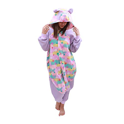(Animal Onesie Panda Pajamas- Plush One Piece Costume (Small,)