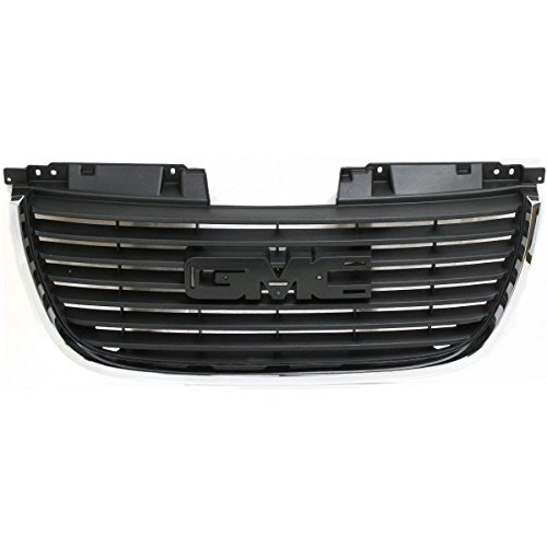 Gmc Jimmy Grille Replacement - OE Replacement GMC Jimmy/Yukon Grille Assembly (Partslink Number GM1200576)