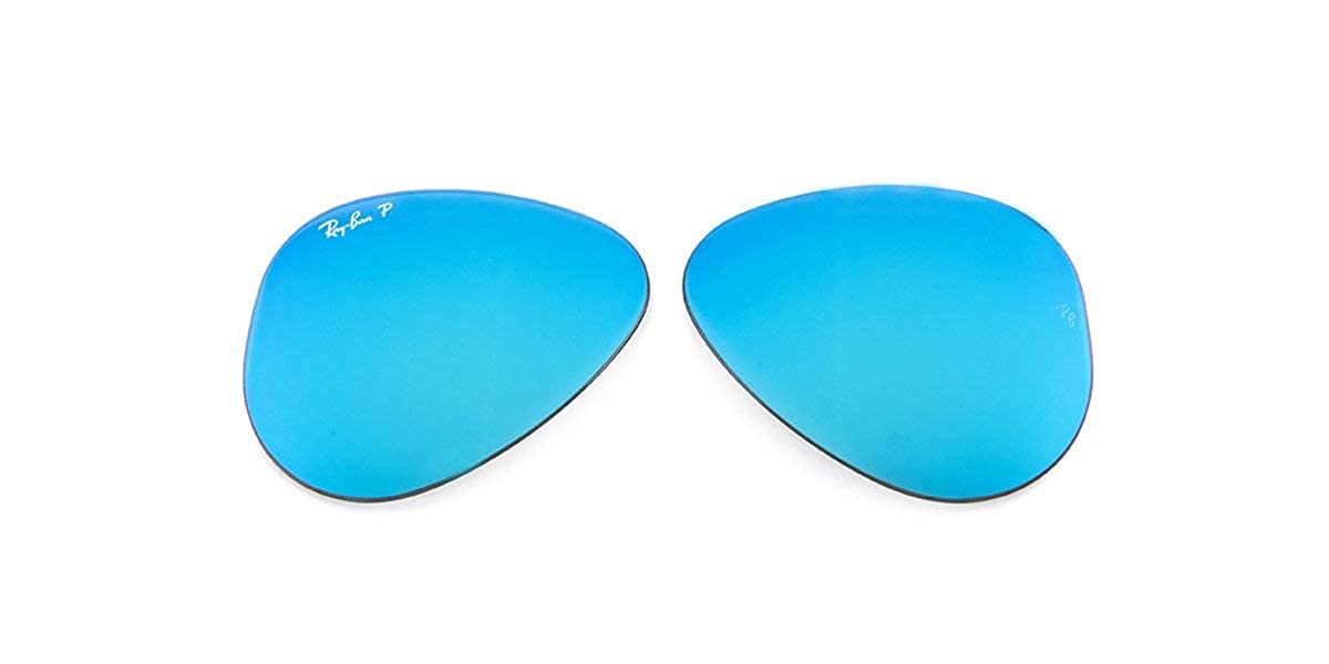 Lenses For Large Original Flash Replacement Rb3025 Aviator Ray Blue Ban Polarized 8n0mvONw