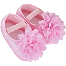 Toddler Shoes,Baby Flower Soft Walking Shoes Newborn Chiffon Shoes Kid Elastic Band Summer Shoes