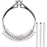 Vancool (18pcs) Ring Size Adjuster(1.5mm/2mm/3mm),Perfect for Loose Rings,with Ring Polishing Cloth