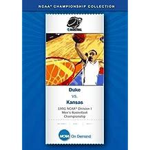 1991 NCAA(r) Division I Men's Basketball Championship: Duke vs. Kansas