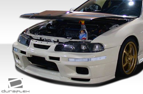 Duraflex ED-MNB-056 R33 Front Bumper Cover - 1 Piece Body Kit - Compatible For Honda Prelude 1992-1996 ()