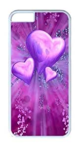 IPhone 6 Case, IPhone 6 Cases Hard White Case Abstract Love Art Case For IPhone 6, IPhone 6 PC Case