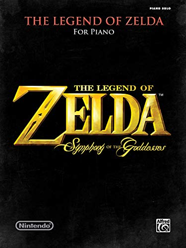 The Legend of Zelda Symphony of the Goddesses: Piano Solos (Breath Of The Wild Piano Sheet Music)