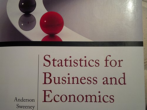 Statistics for Business and Economics Volume 2