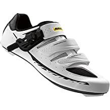 Mavic Ksyrium Elite II Road Shoes - WHITE/BLACK, 8 UK (US 8.5)