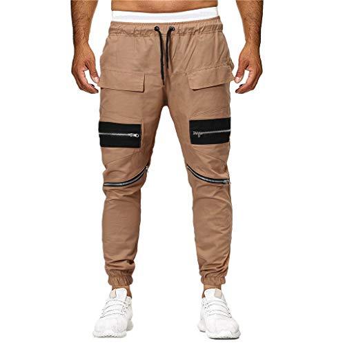 Pure Kaki De À poches Cordon Survêtement Décontracté Hommes Mode Bandage Pantalon En Color B Pour Multi Innerternet Sport qzXwTRp
