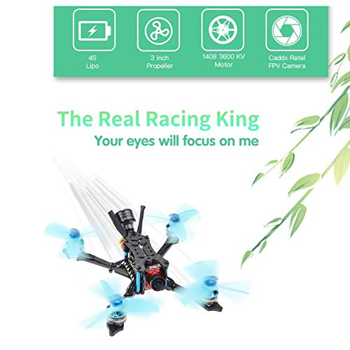 Wikiwand HGLRC Arrow 3 FPV Racing Drone 6S PNP F4 1408 Motor Camera DIY Quadcopters by Wikiwand (Image #6)